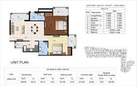 2bhk floor plans sikka kingston greens floor plans