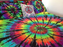 Tie Dye Bed Set Bedrooms Using Wonderful Tie Dye Comforter For Charming Bedroom