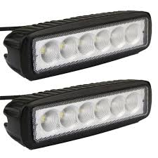 Led Lights Amazon Amazon Com Led Light Bar Senlips 2x 18w Flood Light Led Lights