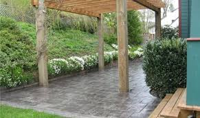 2017 Stamped Concrete Patio Cost Concrete Patio Cost And Install Information The Concrete Network