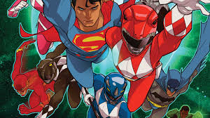 justice league power rangers 2 dc