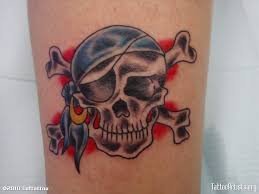 amazing skull tattoos flame skull jolly roger tattoo design idea tattoobite com