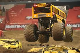 how to become a monster truck driver for monster jam monster trucks at monster jam stowed stuff