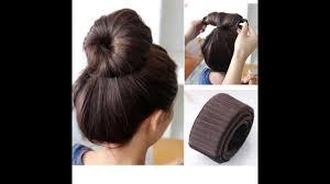 hair bun maker instructiins magic french twist hair bun makers youtube