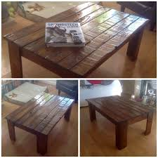 upcycled pallet wood into table u2022 1001 pallets