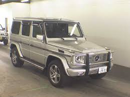 mercedes auction japanese car auction finds mercedes g class g wagen g500l