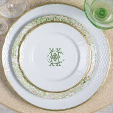 monogrammed dishes 104 best dinnerware monogrammed images on wedding