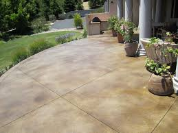 cost to pour a concrete patio home design ideas and pictures