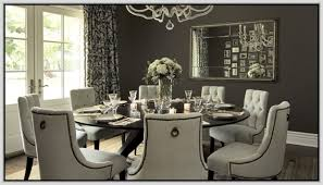 round dining table for 8 with lazy susan dining room pinterest