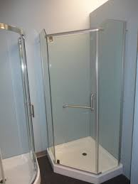 Compact Shower Stall Neo Angle Shower Kit Best Inspiration From Kennebecjetboat