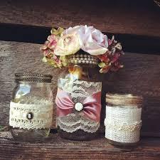 jar decorations for weddings jars burlap burlap and lace jar vases