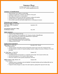Keys To A Good Resume 10 How To Write A Good Resume For Students New Hope Stream Wood