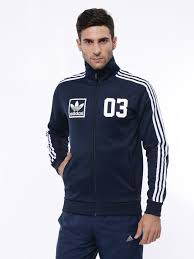 buy adidas m30328 originals men navy 3foil tt jacket at best