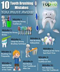The Top 10 Home Must by 10 Tooth Brushing Mistakes You Must Avoid Top 10 Home Remedies