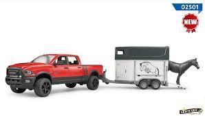 bruder fire truck bruder agriculture trailers dodge ram 2500 pickup truck
