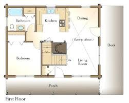 home floor plans with basement simple log home floor plans one room house plans log home