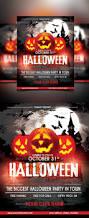 halloween night design v02 flyer psd template facebook cover 25