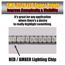 Strip Led Lights Ebay by Rear Footpegs Brake Signal Led Strip Lights 120mm For Universal