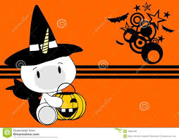 cute halloween background vectors halloween cute unicorn baby witch background stock vector image