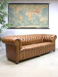 Vintage Leather Chesterfield Sofa Vintage Leather Chesterfield Sofa For Sale At Pamono