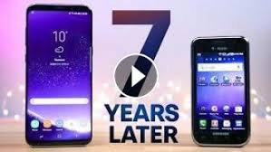 how to upgrade samsung galaxy s vibrant to android 22 samsung galaxy s8 vs first galaxy s 7 year comparison