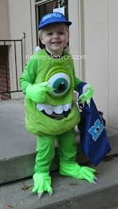Mike Halloween Costume Diy Monsters University Family Costumes