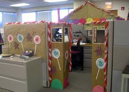 Cubicle Decoration For Christmas by Office Cubicle Decorating Ideas Dream House Experience
