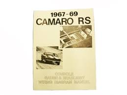 1967 1969 camaro wiring diagram manual rally sport headlight