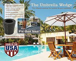 Patio Umbrella Wedge Patio Umbrella Cone Brown