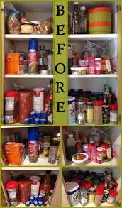 Organization For Kitchen Cabinets Organized Kitchen Cabinet Spices