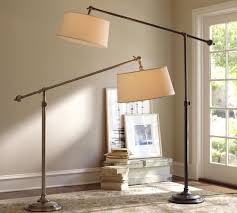 floor lamps pottery barn lighting and ceiling fans