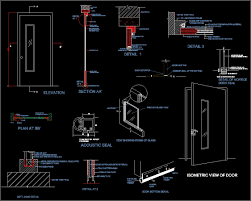Cool Cad Drawings Enchanting Folding Door Elevation Gallery Best Inspiration Home