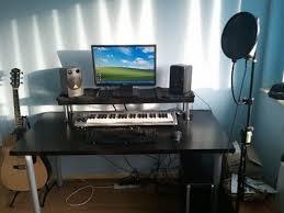 home recording studio desk cheapest home studio desk ever ikea hackers