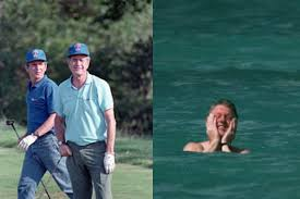 Obama S Vacation These Are The Most Embarrassing Photos Of Presidents On Vacation