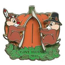 thanksgiving pin your wdw store disney thanksgiving pin 2011 chip n dale