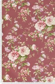 papier peint lutece chambre papier peint fleurs classiques fond amarant papier peint