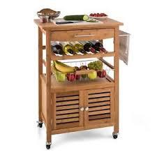 beistellwagen küche servierwagen küchenwagen beistellwagen bambus küchentrolley 4