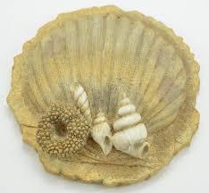 sea shell wall plaques resin seashell nautical home decor