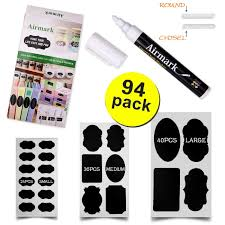 low cost 94 pcs reusable chalkboard labels premium stickers for
