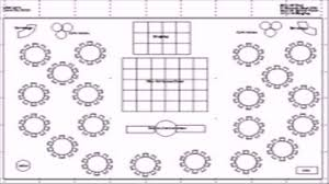 banquet hall floor plan template youtube