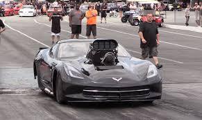 supercharged c7 corvette monstrous supercharged c7 corvette rips the 1 8th mile ls1tech com