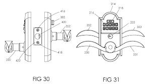 patent us20100257906 keypad lockset google patents