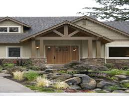 exterior paint schemes on ranch homes makeover craftsman ranch
