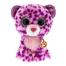 large ty beanie glamour leopard soft toy ty toys