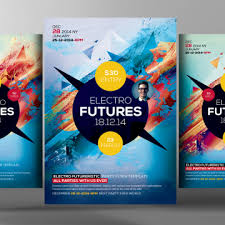 colorful business flyer template template free download on pngtree