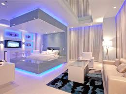 pics of cool bedrooms led lighting ideas for bedroom awesome and cool blue bedroom