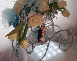 Cinderella Wire Carriage Centerpieces by Cinderella Centerpieces Etsy