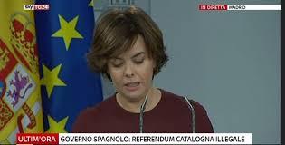 consiglio dei ministri news governo spagnolo referendum illegale domani convocato il