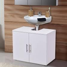 under the sink bathroom organizer costway non pedestal under sink bathroom storage vanity cabinet