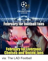 Chions League Meme - elf chions league february for football fans february for